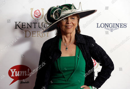 Author Nora Roberts arrives to attend the 139th Kentucky Derby at Churchill Downs, in Louisville, Ky