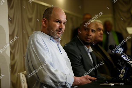 Kevin Turner Former NFL player Kevin Turner, left, speaks as former players Dorsey Levens, center, and Bill Bergey listen during a a news conference, in Philadelphia, after a hearing to determine whether the NFL faces years of litigation over concussion-related brain injuries. Thousands of former players have accused league officials of concealing what they knew about the risk of playing after a concussion. The lawsuits allege the league glorified violence as the game became a $9 billion-a-year industry