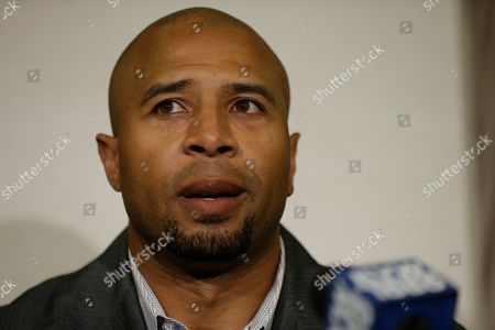 Dorsey Levens Former NFL player Dorsey Levens speaks during a news conference, in Philadelphia, after a hearing to determine whether the NFL faces years of litigation over concussion-related brain injuries. Thousands of former players have accused league officials of concealing what they knew about the risk of playing after a concussion. The lawsuits allege the league glorified violence as the game became a $9 billion-a-year industry