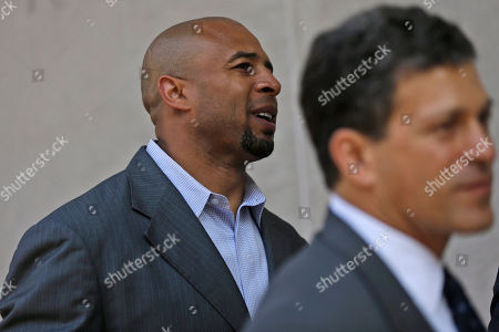 Dorsey Levens Former NFL player Dorsey Levens, left, walks to the U.S. Courthouse, in Philadelphia for a hearing to determine whether the NFL faces years of litigation over concussion-related brain injuries. Thousands of former players have accused league officials of concealing what they knew about the risk of playing after a concussion. The lawsuits allege the league glorified violence as the game became a $9 billion-a-year industry