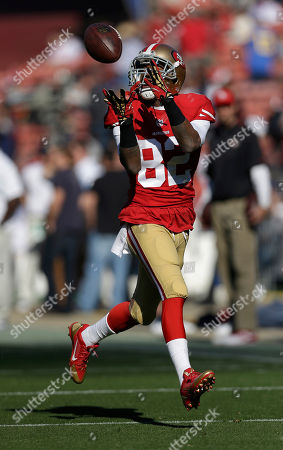 Mario Manningham San Francisco 49ers wide receiver Mario Manningham (82) warms up before an NFL football game against the St. Louis Rams in San Francisco