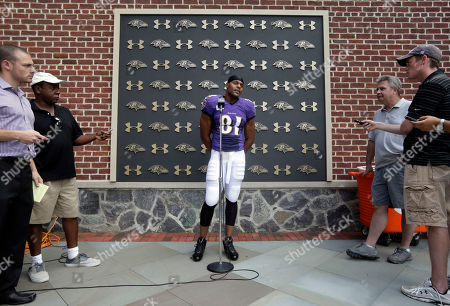 Editorial photo of Ravens Camp Football, Owings Mills, USA