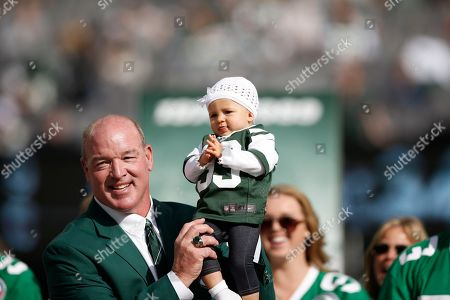Marty Lyons Former New York Jets defensive tackle Marty Lyons holds his nearly one year-old granddaughter Liv Lyons during a halftime ceremony in an NFL football game between the New York Jets and the Pittsburgh Steelers, in East Rutherford, N.J. Lyons was inducted into the Jets Ring of Honor