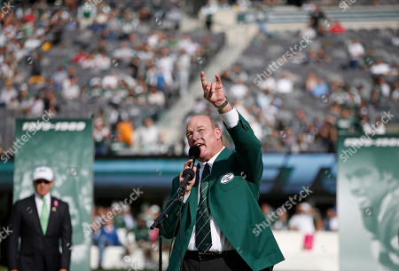 Marty Lyons Former New York Jets defensive tackle Marty Lyons gestures toward the crowd speaking as he is inducted into the Jets Ring of Honor during a halftime ceremony of an NFL football game between the New York Jets and the Pittsburgh Steelers, in East Rutherford, N.J