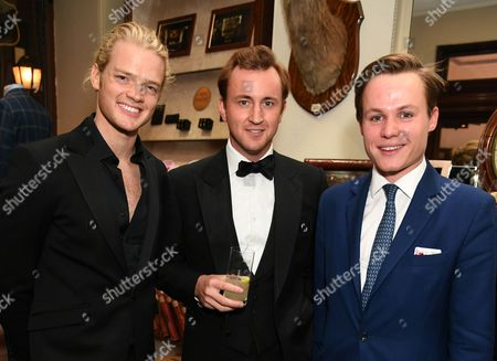 Fredrik Ferrier, Francis Boulle and Archie Manners