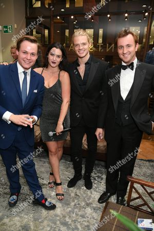 Archie Manners, Sarah-Flynn Jones, Fredrik Ferrier and Francis Boulle