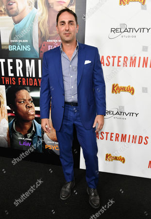 Editorial image of 'Masterminds' film premiere, Arrivals, Los Angeles, USA - 26 Sept 2016