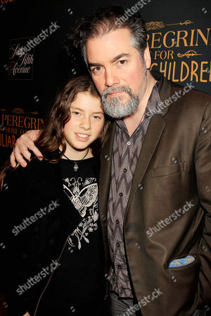 Kevin Corrigan with daughter