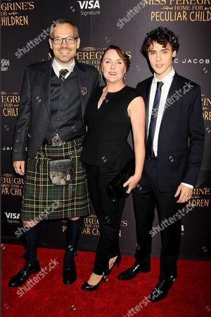 Finlay MacMillan with parents