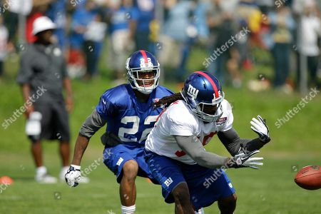 Editorial picture of Giants Camp Football, Albany, USA