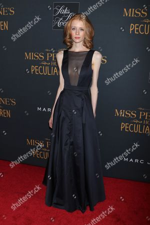 Editorial photo of 'Miss Peregrine's Home for Peculiar Children' film screening, New York, USA - 26 Sep 2016