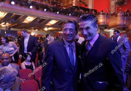 Joe Namath, Billy Baldwin Joe Namath and Billy Baldwin are seen during the inaugural NFL Honors show, in Indianapolis