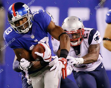 Ramses Barden New York Giants wide receiver Ramses Barden (13) runs away from New England Patriots' Ras-I Dowling (21) during the first half of a preseason NFL football game, in East Rutherford, N.J