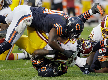 Editorial photo of Redskins Bears Football, Chicago, USA