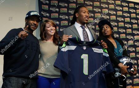 Editorial image of Seahawks Irvin Football, Renton, USA