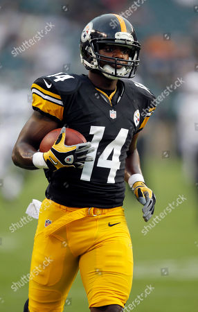 Jimmy Young Pittsburgh Steelers wide receiver Jimmy Young (14) runs with the ball before an NFL preseason football game against the Philadelphia Eagles, in Philadelphia