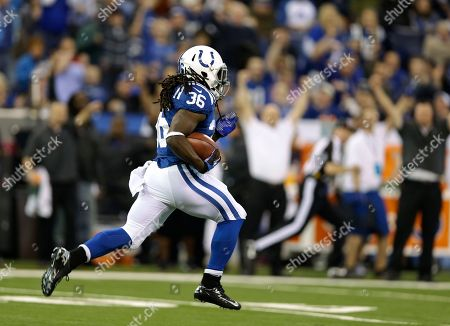 Deji Karim Indianapolis Colts' Deji Karim runs back a kickoff 101 yards for a touchdown during the second half of an NFL football game against the Houston Texans, in Indianapolis