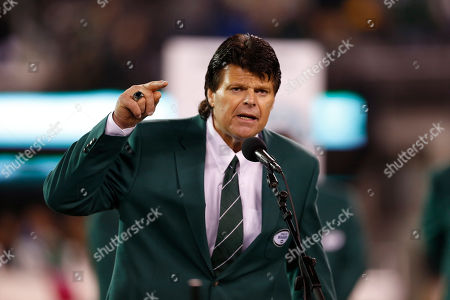 Mark Gastineau Former New York Jets defensive end Mark Gastineau gestures during the half time show of an NFL football game between the New York Jets and the Houston Texans, in East Rutherford, N.J