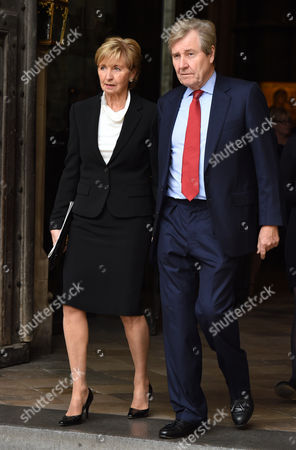 Sue Lawley and husband