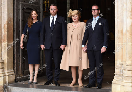 Editorial picture of Sir Terry Wogan - A Service of Thanksgiving, Westminster Abbey, London, UK - 27 Sep 2016