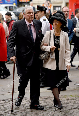 Peter Alliss and wife