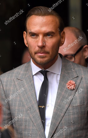 Stock Photo of Matt Goss