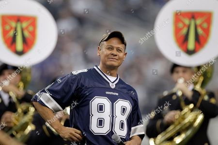 Neal McCoy Singer Neal McCoy performs during halftime of an NFL football game between the Dallas Cowboys and the Buffalo Bills, in Arlington, Texas