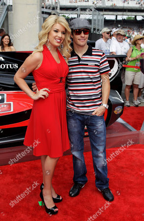 Teresa Scanlan, Nicky Hayden Miss America 2011 Teresa Scanlan and motorcycle racer Nicky Hayden arrive at the Indianapolis Motor Speedway before the Indianapolis 500 auto race in Indianapolis