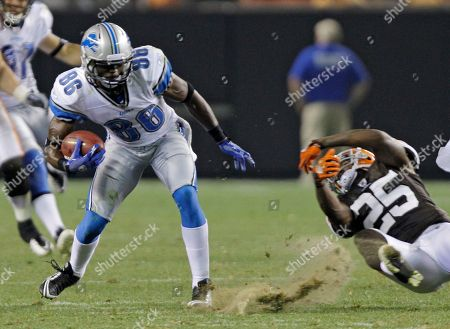 Editorial picture of Lions Browns Football, Cleveland, USA