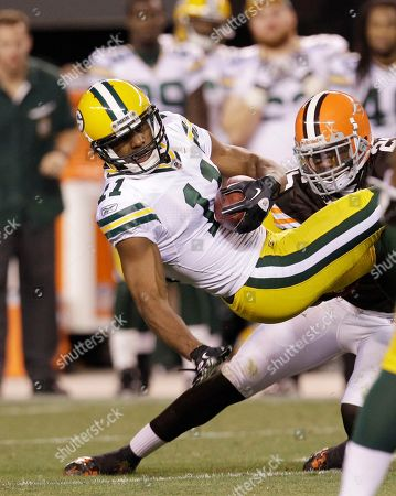 Editorial photo of Packers Browns Football, Cleveland, USA
