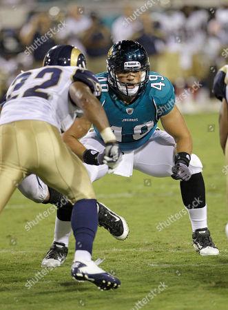 Editorial image of Rams Jaguars Football, Jacksonville, USA