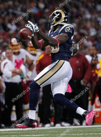 Mike Sims-Walker St. Louis Rams wide receiver Mike Sims-Walker drops a pass during the first quarter of the NFL football game against the Washington Redskins, in St. Louis