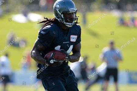 Isaiah Stanback Seattle Seahawks' Isaiah Stanback at a football training camp, in Renton, Wash