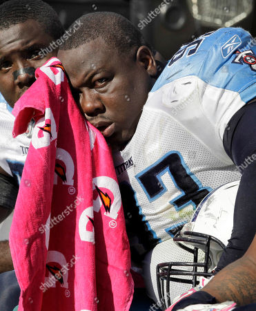 Shaun Smith Tennessee Titans defensive tackle Shaun Smith sits on the bench during the the third quarter of an NFL football game against the Pittsburgh Steelers in Pittsburgh, . The Steelers won 38-17