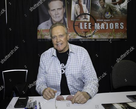 Actor Lee Majors appears