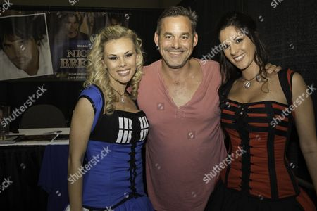 Stock Image of Actor Nicholas Brendon, who is best known for playing Xander Harris in the television series Buffy the Vampire Slayer appears