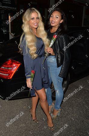 Bianca Gascoigne and Robyn Paige