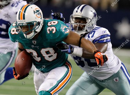 Editorial image of Dolphins Cowboys Football, Arlington, USA