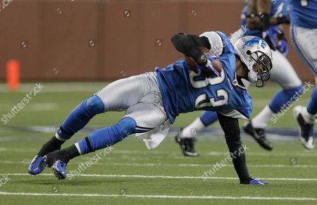 Brandon McDonald Detroit Lions cornerback Brandon McDonald (33) regains his footing during the first quarter of an NFL football game against the Green Bay Packers at Ford Field in Detroit