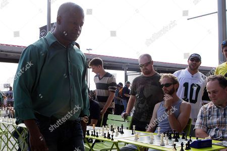 Maurice Ashley Chess grandmaster Maurice Ashley plays Jets fans before an NFL football game between the Jets and the New England Patriots at New Meadowlands Stadium in East Rutherford, N.J