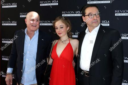 Ron Perelman, Carson Meyer and Fabian Garcia