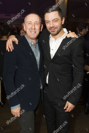 Stock Image of Nicholas Hytner and Dominic Cooper (Earl of Rochester)