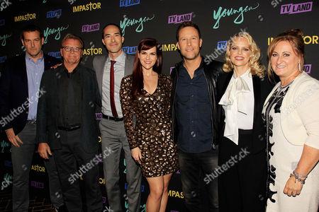 "Stock Photo of Keith Cox, Cyma Zarghami with Cast of ""Impastor"""