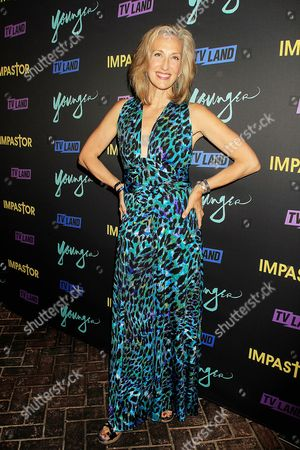 """Editorial image of """"Younger"""" and """"Impastor"""" New York Premiere party, USA - 27 Sep 2016"""