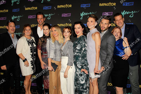 """Editorial photo of """"Younger"""" and """"Impastor"""" New York Premiere party, USA - 27 Sep 2016"""