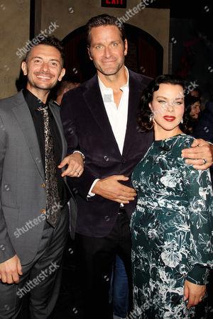 Gabriele Corcos, Debi Mazar and Peter Hermann