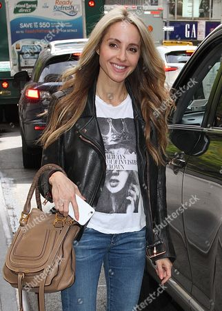 Editorial photo of Gabrielle Bernstein out and about, New York, USA - 27 Sep 2016