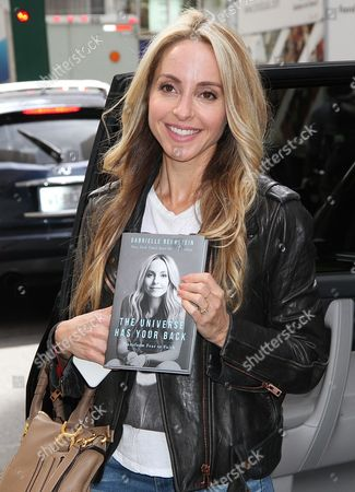 Editorial image of Gabrielle Bernstein out and about, New York, USA - 27 Sep 2016