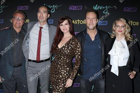 David Rasche, Mike Kosinski, Sara Rue, Michael Rosenbaum and Mircea Monroe, The cast of 'Impastor'