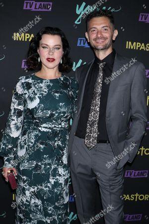 Debi Mazar and Gabriele Corcos